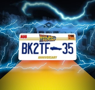 Back To The Future: 35th Anniversary Pin Badge