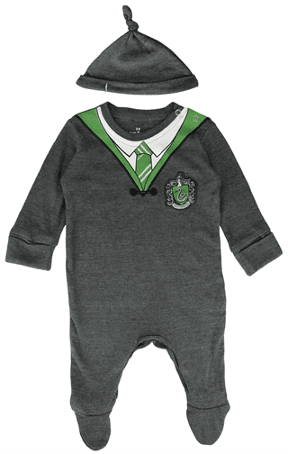 Harry Potter: Slytherin Baby Grow with Baby Hat