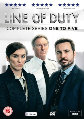Line of Duty: Complete Series One to Five