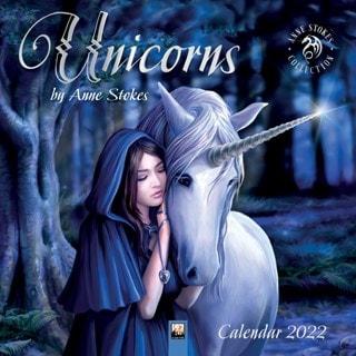 Unicorns: Anne Stokes Square 2022 Calendar