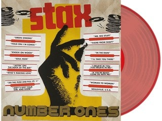 Stax Number Ones - Transparent Red Vinyl