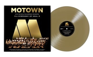 Motown: A Symphony of Soul: With the Royal Philharmonic Orchestra (hmv Exclusive) Gold Vinyl