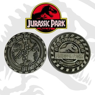 Jurassic Park DNA: Limited Edition Coin