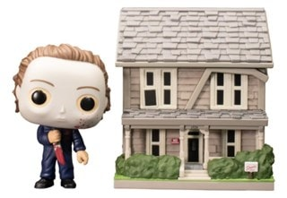Myers House With Michael Myers Halloween Pop Vinyl Town