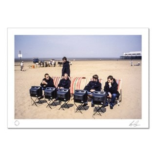 Oasis Art Print: Beach Shot