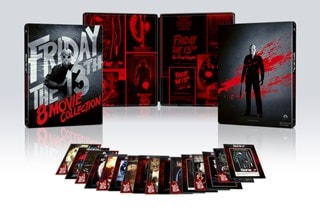 Friday the 13th: Parts 1-8 Limited Edition Steelbook