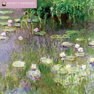 Monet's Waterlilies Square 2022 Calendar