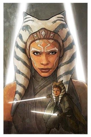 A Jedi Plagues Me Brent Woodside Star Wars Art Print