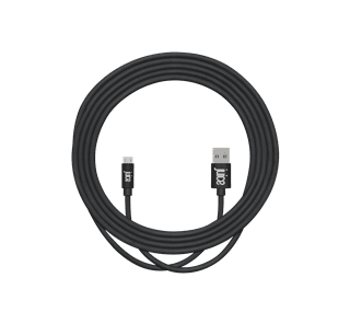 Juice Micro USB Black Charge & Sync Cable 3m