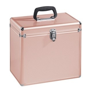 Hama Rose Gold Case for LP Storage