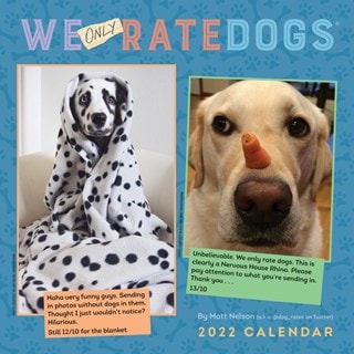 We Only Rate Dogs Square 2022 Calendar