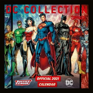 DC Comics Official Square 2021 Calendar