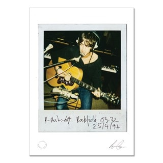 Richard Ashcroft Art Print: Acoustic Guitar (hmv Exclusive)