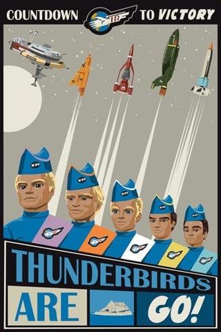 Thunderbirds Are Go Steve Thomas Art Print