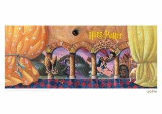 Harry Potter: Philosopher's Stone Book Cover Art Print