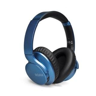 Roam R-Lab Metallic Blue Bluetooth Active Noise Cancelling Headphones