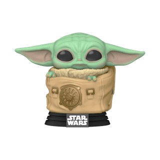 The Child (Baby Yoda) in Bag (405) The Mandalorian Star Wars Pop Vinyl