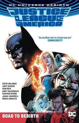 Justice League of America: The Road to Rebirth TP (Rebirth) 1