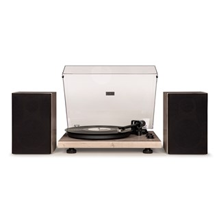 Crosley C62 Grey Turntable & Speakers