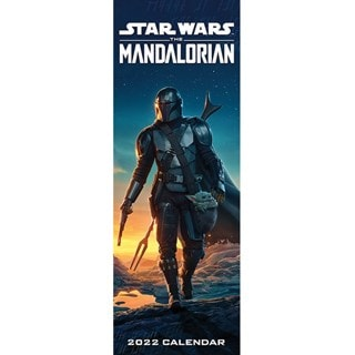 The Mandalorian: Star Wars: Slim 2022 Calendar