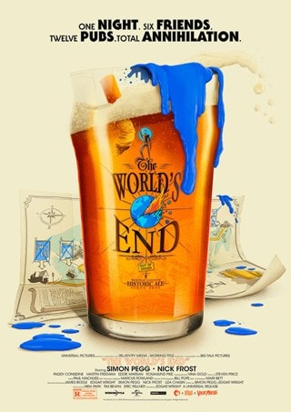 The World's End: Patrick Connan Movie Poster