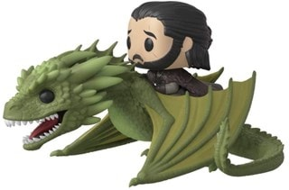 Jon Snow with Rhaegal (67) Game of Thrones: Pop Vinyl Rides