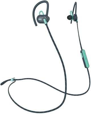 House Of Marley Uprise Teal Bluetooth Sports Earphones