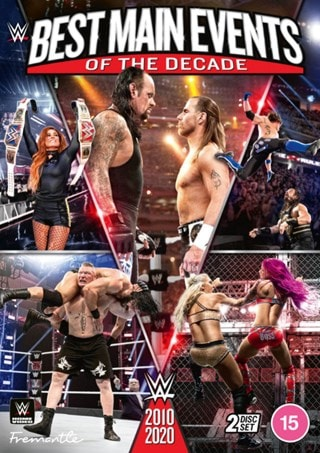 WWE: Best Main Events of the Decade 2010-2020