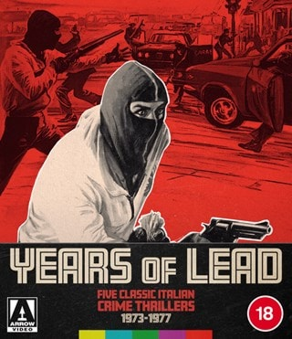 Years of Lead - Five Classic Italian Crime Thrillers 1973-1977