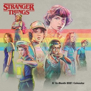 Stranger Things: Square 2021 Calendar