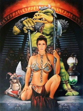 Star Wars: Jester's Court Dave Nestler Limited Edition Lithograph Print