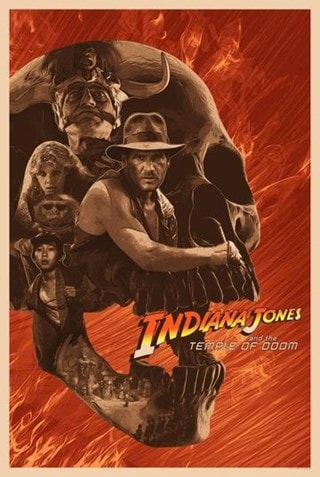 Indiana Jones: Cover Your Heart Devin Schoeffler Limited Edition Lithograph Print