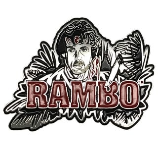 Rambo Pin Badge