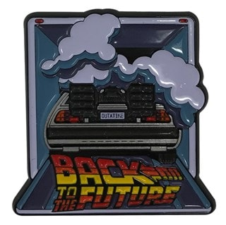 Back To The Future Pin Badge