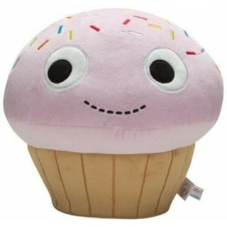 NECA Kidrobot: Sprinkles Pink Cupcake Yummy World Medium Soft Toy