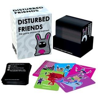 Disturbed Friends Card Game