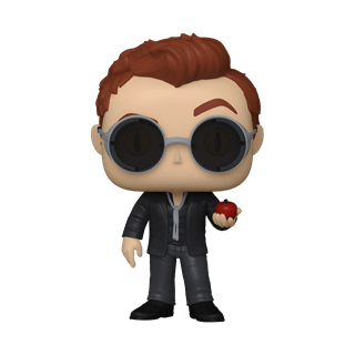 Crowley With Apple (1078) Good Omens Pop Vinyl (with Ice Pop Chase)