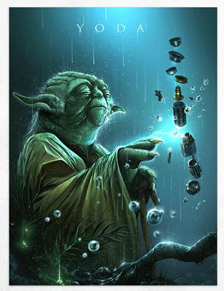 Yoda Limited Edition Fine Art Print