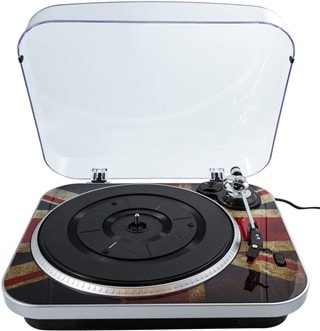 GPO Jam Union Jack Turntable