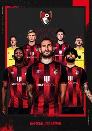 Bournemouth FC: Football A3 2021 Calendar