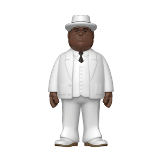 "Biggie Smalls - White Suit: Funko Vinyl Gold 12"""