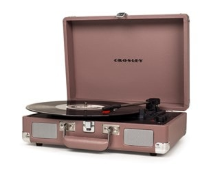 Crosley Cruiser Deluxe Purple Ash Turntable