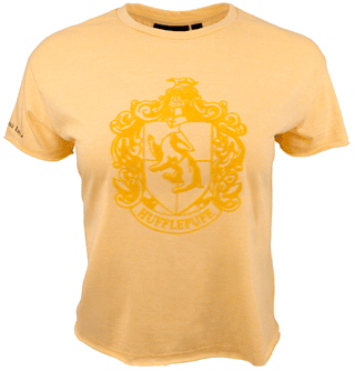 Harry Potter: Hufflepuff Ladies Cropped Tee