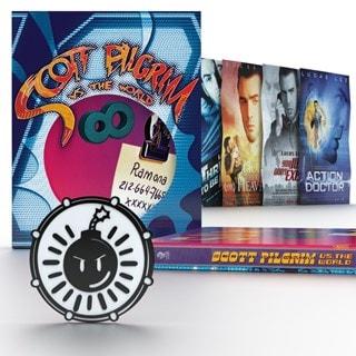 Scott Pilgrim Vs. The World Titans of Cult Limited Edition 4K Ultra HD Blu-ray Steelbook