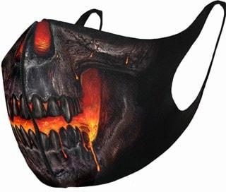Skull Lava Face Covering