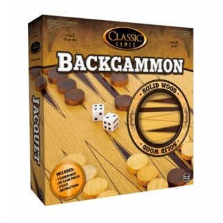 Backgammon: Solid Wood