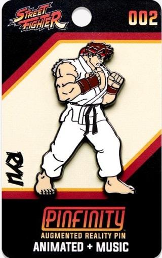 Ryu: Street Fighter Pinfinity Pin Badge