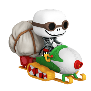 Jack With Goggles & Snowmobile: Nightmare Before Christmas Pop Vinyl Rides