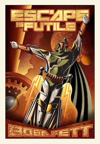 Star Wars: Escape Is Futile Giclee Limited Edition Art Print