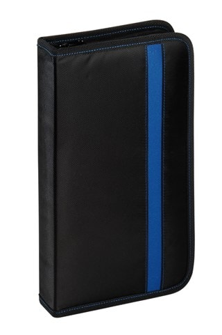 Vivanco 48 CD Wallet Black/Blue